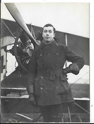 WW1 Original Photograph Royal Air Force Lt. C.B.Ridley RAF • 25£