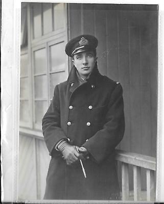 WW1 Original Photograph Royal Naval Air Service Flight Sub Lt. W.H.Hope • 20£