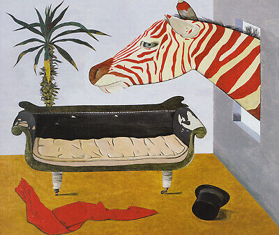 Painters Room Lucian Freud Print In 11 X 14 Inch Mount SUPERB • 18.95£
