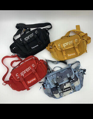 $ CDN40.83 • Buy Supreme Unisex SS20 Waist Bag 4 Colors Red/Blue/Black/Yellow