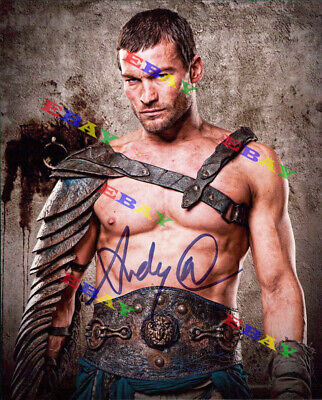 £5.81 • Buy Andy Whitfield (Spartacus) AUTOGRAPHED Signed 8x10 Photo REPRINT