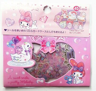 Pack Of 45 Sanrio *My Melody* Kawaii Japanese Stickers • 3.20£
