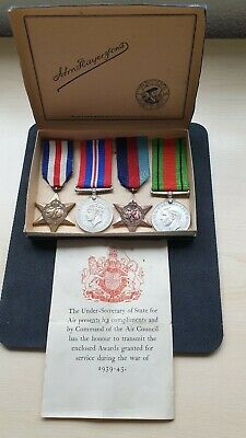 Original British WW2 Medal Group  Collection . Full Size. Boxed • 34£