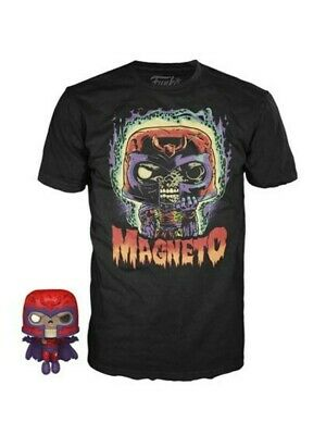 Funko Pocket Pop! And Tee Marvel Zombies Magneto Adult T Shirt • 16.42£