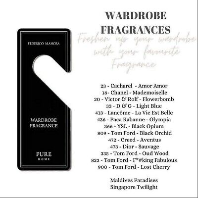 £4.50 • Buy FM Pure Home Car/wardrobe Fragrance, Hanging Freshener DIFFERENT ONES AVAILABLE