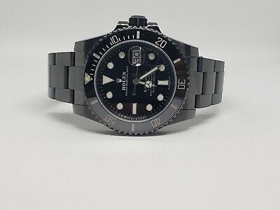 $ CDN133.51 • Buy Rolex Submariner Date 116610LN Custom DLC/PVD
