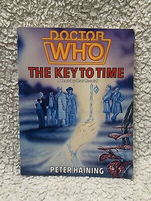 Dr Who The Key To Time A Year-by-Year Record Book Peter Haining  • 0.99£