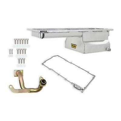 $305.95 • Buy Weiand 5048WND Fabricated Oil Pan Kit LS1/2/6 Front Sump Polished