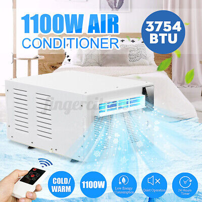 AU265.59 • Buy 1100W Air Conditioner Window/Wall Refrigerated Cooler Dehumidification Portable