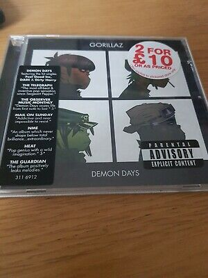 Gorillaz - Demon Days (Parental Advisory, 2005) • 1.50£