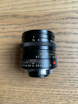 Leica Summilux - M35mm F1:1.4 ASPH - Black 3795492 For M6 Series • 1,400£