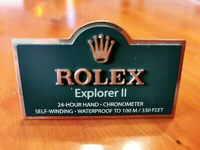 Rolex Explorer || Display Tag • 12.50£