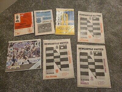 Newcastle United Programmes 1966 To 1984 • 0.99£