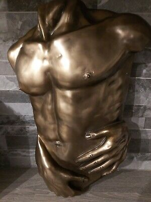 Naked Male Torso Erotic Art Sculpture Gay Interest • 75£