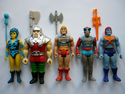 $79.99 • Buy Funko Super7 Reaction MOTU Masters Of The Universe Lot Of 5 Figures W/ Weapons