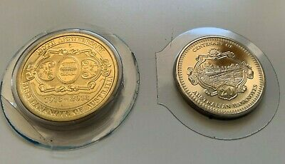 AU20 • Buy MINT 2013 Centenary Of Banknotes $1 And 20c Cent Coins In Plastic Keepers