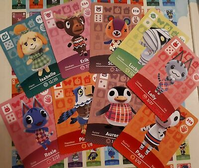 AU4.95 • Buy Authentic Animal Crossing Amiibo Series 4 Cards :) # 301-400 On Sale! Prices Cut