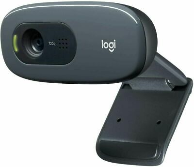 AU53.57 • Buy NEW Logitech C270 HD 720p/30fps Webcam With Microphone Widescreen Video Calling