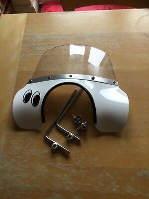 Vespa PX Flyscreen White With All Fixings • 4.99£