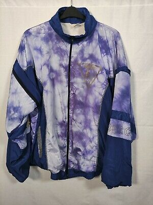 Vintage XL Shell Suit Track Top. Removable Arms. • 8.99£