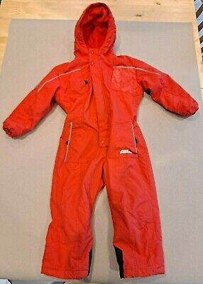 Childs No Fear Snowsuit Skisuit Waterproof Outerwear Sledging Winter 3-4 Years • 19.99£