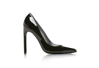 Stuart Weitzman Queen Pumps Black Patent Size 4 • 40£