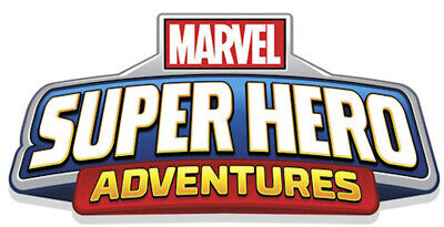 Imaginext Marvel Super Hero Adventures Action Figures FREE SHIPPING • 12.99£
