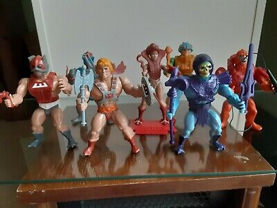 $400 • Buy Mattel Masters Of The Universe He-Man 8 Back Lot