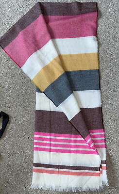 Large Striped Scarf From GAP • 2£
