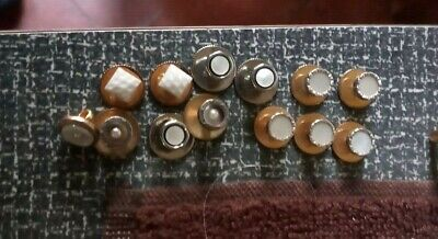 Collection Of Vintage Early 1900s Edwardian Shirt /Collar Studs  • 1.75£