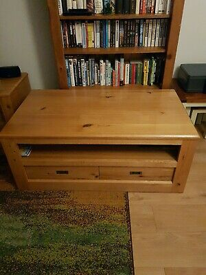 Beautiful Next Hudson Coffee Table Solid Oak • 80£
