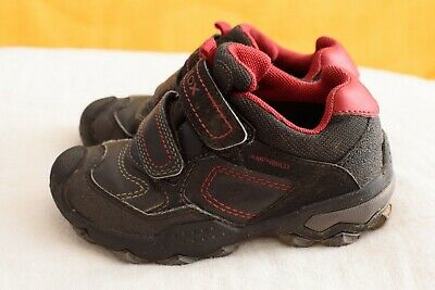 Boys Geox Shoes Size 26, Waterproof And Breathable • 5£