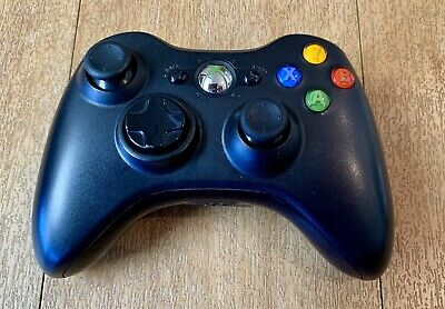 AU29 • Buy GENUINE Microsoft XBOX 360 Wireless Controller Black Colour - Tested And Working