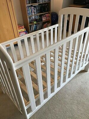East Coast Anna Drop-side Cot With Mattress • 45£