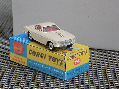 Corgi 258 Volvo P1800 And The Saint. And Box • 13.95£