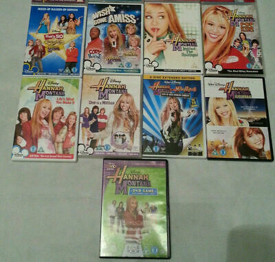 Hannah Montana Thats So Raven Suite Life Of Zack And Cody Disney Movie Pop • 35£