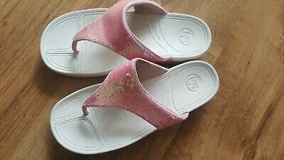 Pink Sequin Fitflops Size 5 • 15£