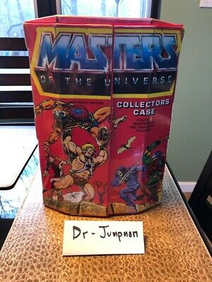 $12.97 • Buy Vintage 1984 Masters Of The Universe 8 Character Collectors Case 40700 He-Man