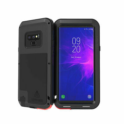 $ CDN44.62 • Buy LOVE MEI Silicone Rubber Metal Shockproof Cover Case Samsung Galaxy Note 8 USA