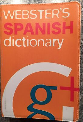 Webster's Spanish /English Dictionary • 1.20£