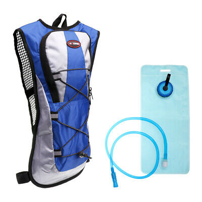 AU20.53 • Buy New Sports Backpack 2L Water Bladder Bag Hydration Packs Climbing Hiking Camping