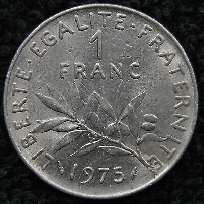 AU0.50 • Buy Foreign Coin - France - 1975 1 Franc. Solid To High Grade.