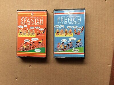 Language Learning Tapes French & Spanish For Beginners By Usborne Bnwot Not Used • 2£