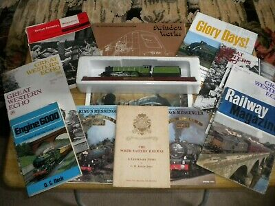 Old Railway Books/magazines/model Train • 20£