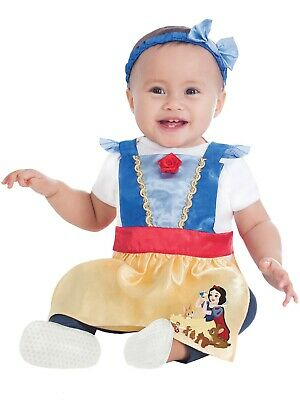 Disney Baby Snow White Dress Up Pinafore 3-12 Months New In Packaging 64-80cm • 8£