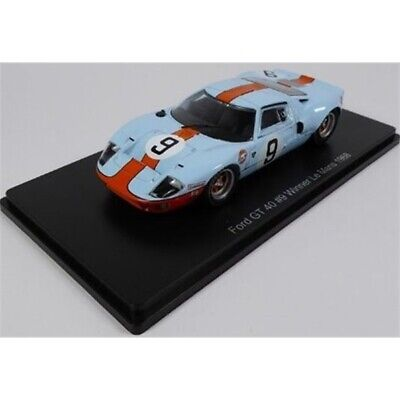 MAG MB04 FORD GT40 Diecast Model Car Winner Le Mans 1968 Gulf Livery No.9 1:43rd • 15£
