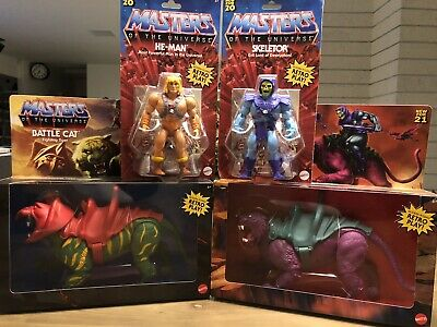 $129.99 • Buy Masters Of The Universe Skeletor He-man PANTHOR SAVAGE CAT BATTLE CAT SEALED NEW