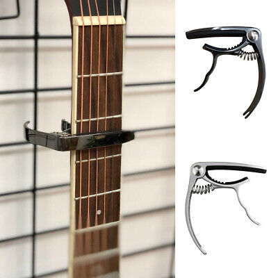 AU10.70 • Buy Professional Clamp Ukulele Portable Zinc Alloy Capo Acoustic Musical Guitar