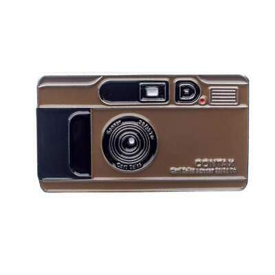 $ CDN17.14 • Buy  Official Exclusive Contax T2 Compact Film Camera Champagne Gold Lapel Pin Badge