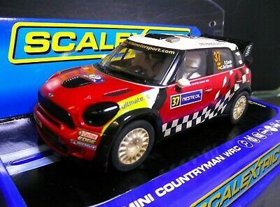 Scalextric C3301 Mini Countryman WRC Weathered F/R Lights In Box DPR • 39.99£